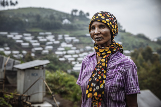 Kibabi IDP Site is one of 24 sites in Masisi Territory where more than 1.7 million people have been displaced by conflict over the past decade. Displaced populations lack food and other basic services throughout Masisi where humanitarian assistance is limited. In an intention survey conducted by IOM and UNHCR in March 2019, more than 70 per cent of Kibabi's population did not feel safe enough to return to their home areas and wanted more opportunities to integrate in the host communit