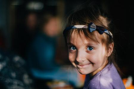 A displaced child in Zhytomyr, Northern Ukraine