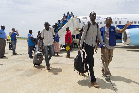 MSS0060 IOM completes on 6 June a 24-day IOM airbridge of 79 flights carrying 11,840 stranded South Sudanese from the Sudanese capital Khartoum to Juba in South Sudan.