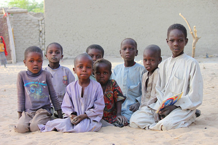 The children who were born in Libya and whose parents are Chadian are facing reintegration problems particularly linked to the language, adaptation to the culture and access to schools.