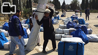During the first week of March 2017, IOM delivered shelter and winter supplies to 1,112 vulnerable Afghan families who returned to Nangarhar province from Pakistan.
