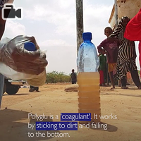 IOM Somalia is using Polyglu to treat drinking water and help Somalis affected by the recent drought.