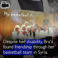 Born with a hearing disability in Syria, life for Bra'a has not been easy.  This is her journey to overcome the obstacles and have hope for the future.