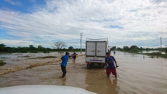 The heavy rains that began in January 2017 have caused severe flooding in communities and urban areas across Peru with several locations devastated by mudslides and falling rocks. This has left 124,000 people affected and 97 fatalities to date, according to the Government.