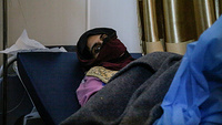 """Sarah is a single 25-year old A week before she had been cooped up with her mother, sister and two children, sister in law and three other families in a house, by ISIL who had taken them as human shields.   As the Iraqi army closed in on the old city, an ISIL jihadist woman walked in wearing a suicide vest.   """"'You are all infidels waiting for the infidel army to come and save you',"""" she shouted before detonating her vest amongst them.   The room collapsed, Sarah found herself under the rubble.    """"At first I could hear the voices of women shouting from under the rubble… I could hear children crying…"""" she recalled.   Then their voices slowly faded one by one as they suffocated and died,"""" she said."""
