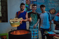 Like many of Afghanistan's ethnic Hazara, Musa faced considerable discrimination in his home province, and threats from armed militants. Ultimately he fled to Indonesia, received his refugee status and moved from an immigration detention centre to community accommodations in South Sulawesi.  Unable to work or go to school, Musa and his friends are giving back to their neighbours, hosting cooking classes, sharing recipes from their war-torn homeland while waiting patiently for the day they will be offered the chance to resettle abroad.