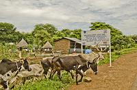 Entrance of Pagak Reception Centre