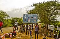 Entrance of Kule Refugee Camp