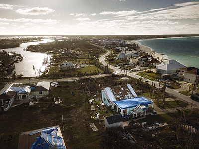 Category Five Hurricane Dorian was the worst disaster to ever hit landfall in the Bahamas. The storm struck in August 2019 and affected more than 70,000 people.  As residents of the hurricane-struck island of Abaco begin to return and rebuild their homes, IOM is working with the government and partners to help remove debris, assess and track the needs of affected populations and search for dignified housing solutions for the displaced.