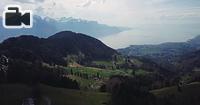 General drone footage of Switzerland.